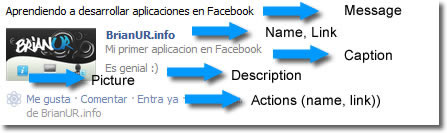 publish feed Facebook