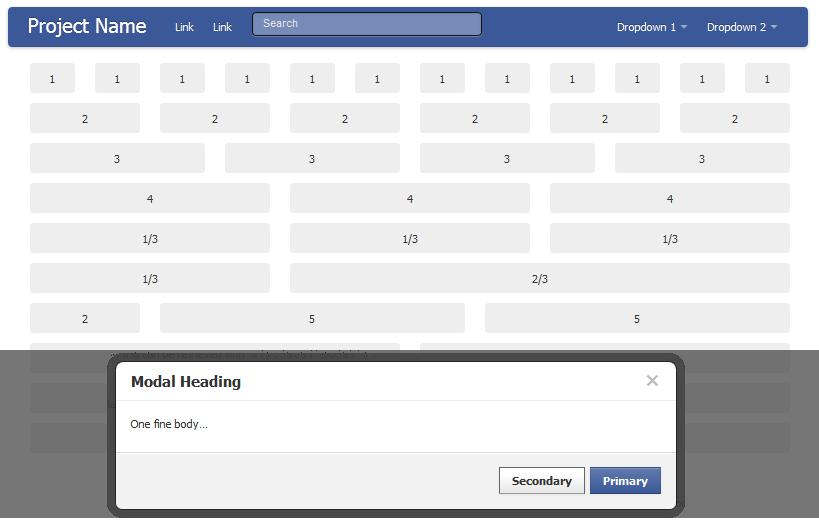 Dar estilo a aplicaciones de Facebook con Fbootstrapp